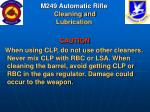 m249 automatic rifle cleaning and lubrication49