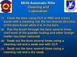 m249 automatic rifle cleaning and lubrication50