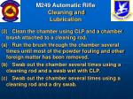 m249 automatic rifle cleaning and lubrication51