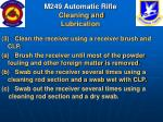 m249 automatic rifle cleaning and lubrication52
