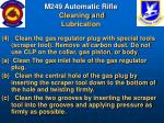 m249 automatic rifle cleaning and lubrication53