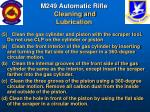 m249 automatic rifle cleaning and lubrication54