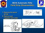 m249 automatic rifle field strip disassembly24
