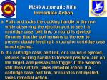 m249 automatic rifle immediate action40