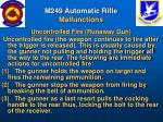 m249 automatic rifle malfunctions