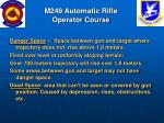 m249 automatic rifle operator course77