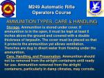 m249 automatic rifle operators course15