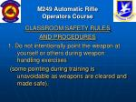 m249 automatic rifle operators course7