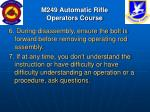 m249 automatic rifle operators course9