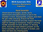 m249 automatic rifle preventive maintenance inspection56