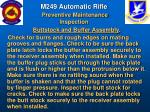 m249 automatic rifle preventive maintenance inspection57