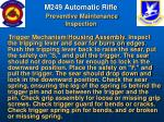 m249 automatic rifle preventive maintenance inspection59