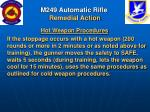 m249 automatic rifle remedial action42