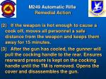 m249 automatic rifle remedial action44