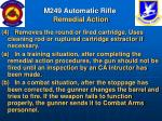 m249 automatic rifle remedial action45