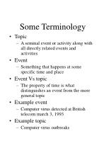 some terminology