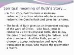 spiritual meaning of ruth s story