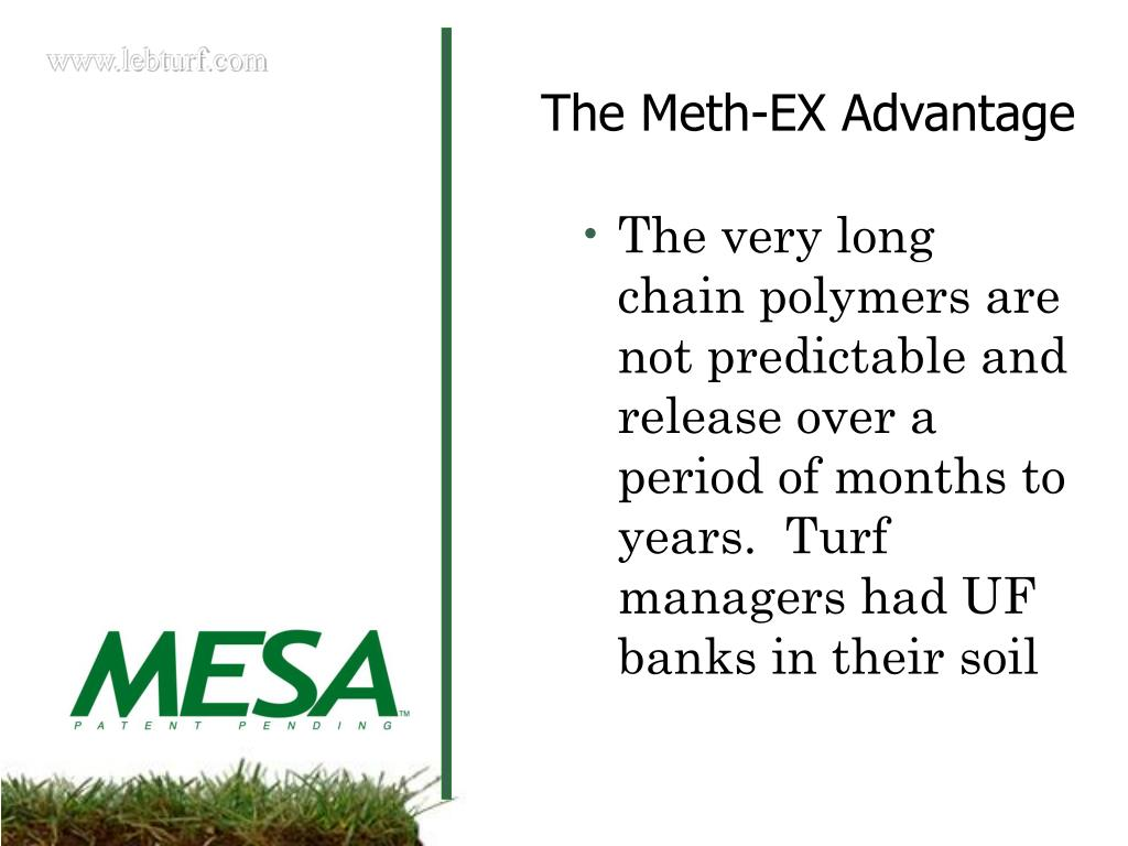 The very long chain polymers are not predictable and release over a period of months to years.  Turf managers had UF banks in their soil
