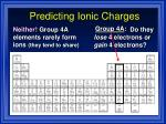 predicting ionic charges11
