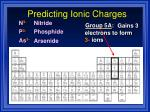 predicting ionic charges12