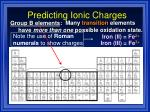 predicting ionic charges16