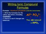 writing ionic compound formulas37
