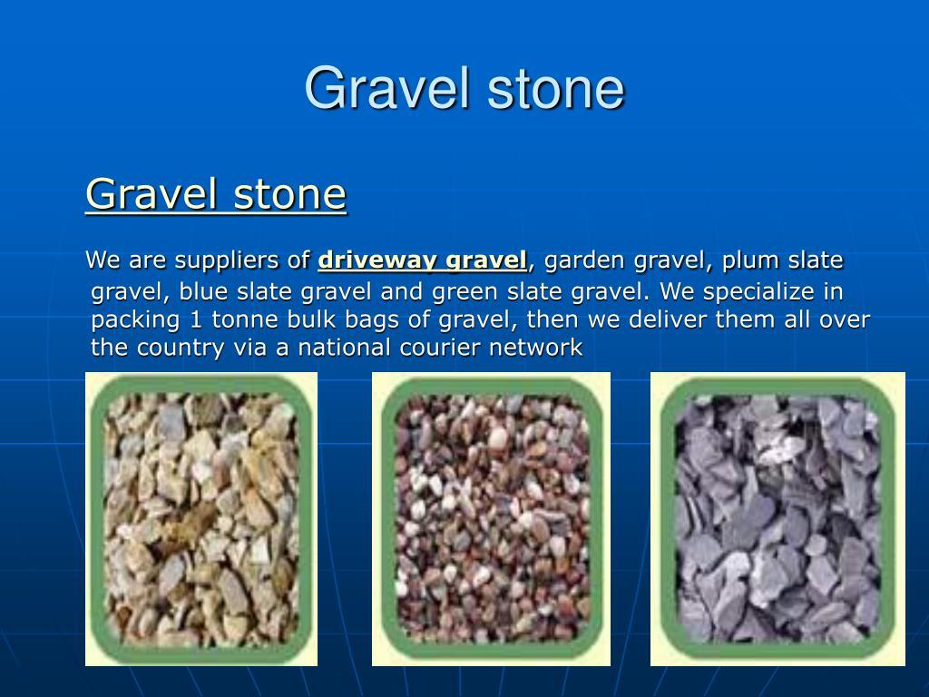 gravel stone l.