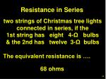 resistance in series54