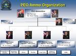 peo ammo organization