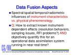 data fusion aspects