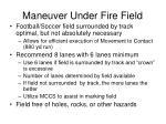 maneuver under fire field