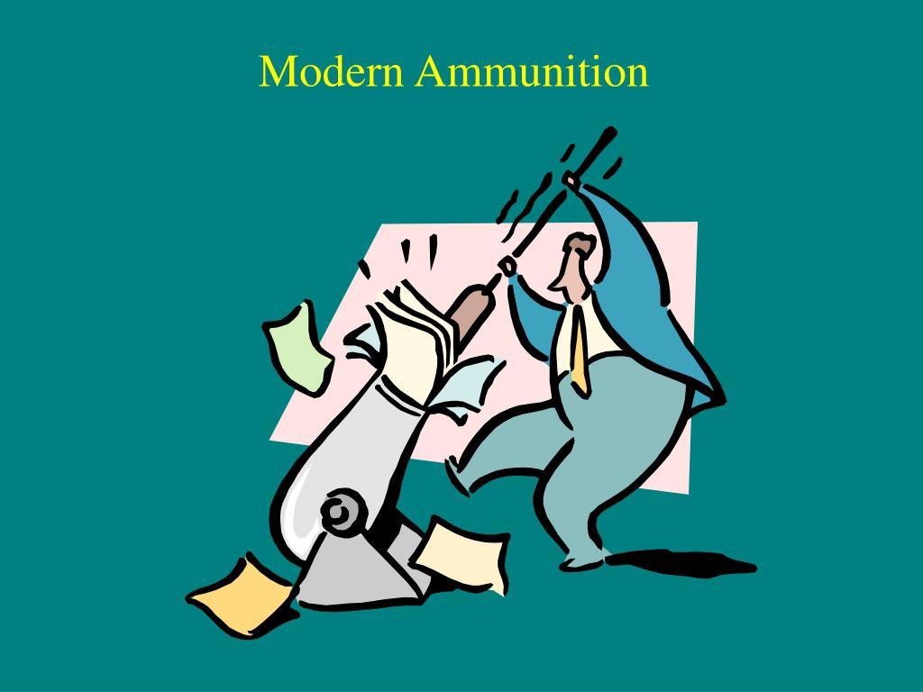 modern ammunition l.