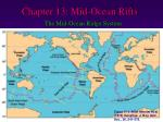 chapter 13 mid ocean rifts