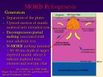 morb petrogenesis