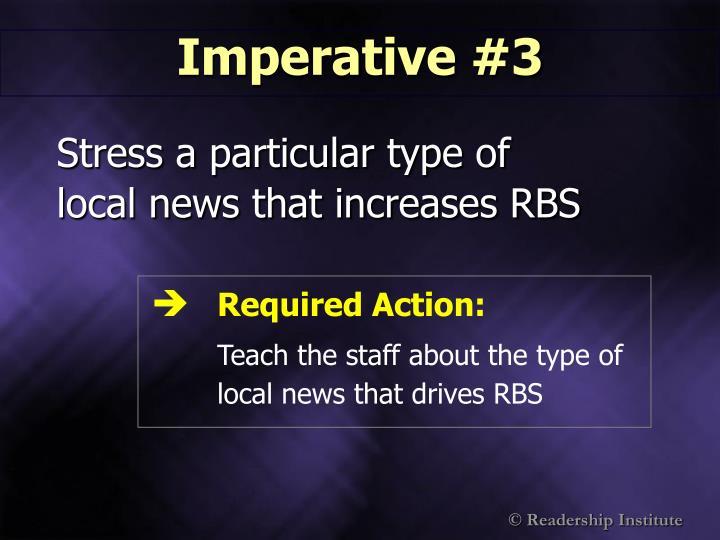 Imperative #3