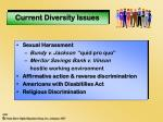 current diversity issues