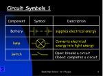 circuit symbols 1