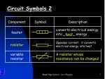 circuit symbols 2