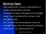 electrical power1