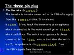 the three pin plug1
