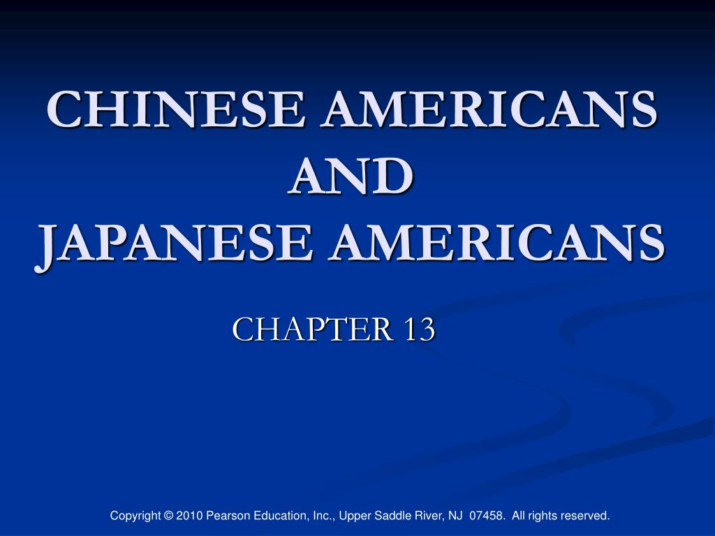 chinese americans and japanese americans l.