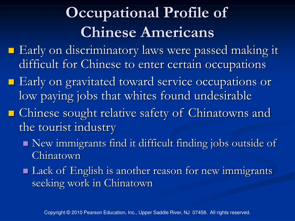 Occupational Profile of