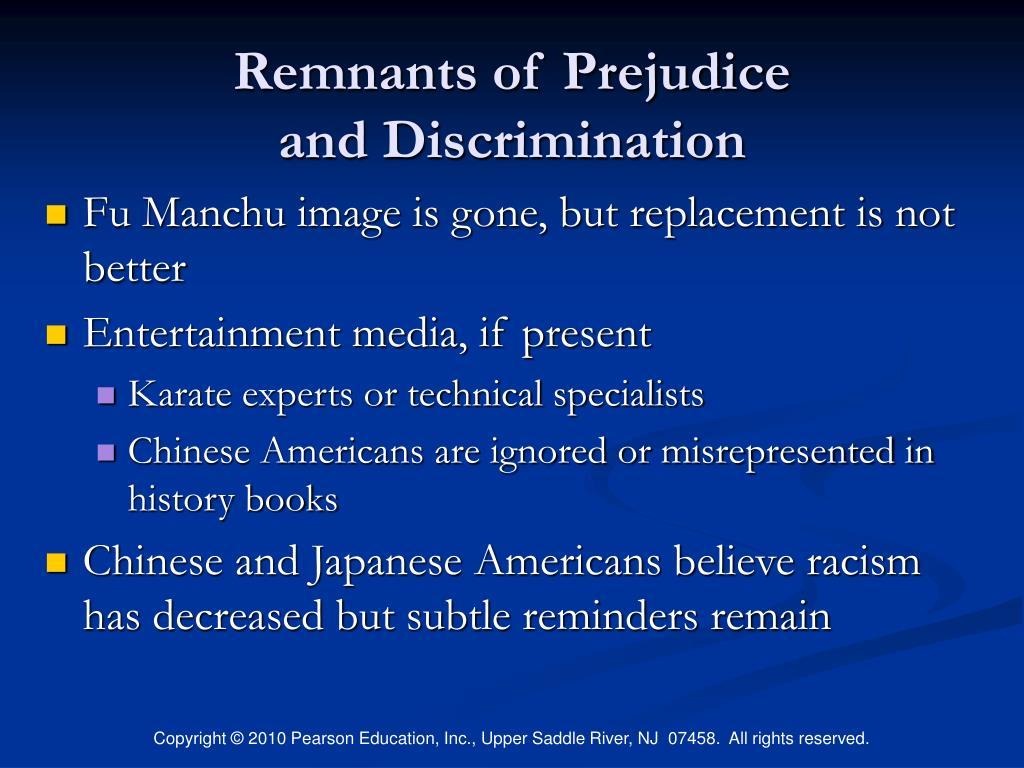 Remnants of Prejudice