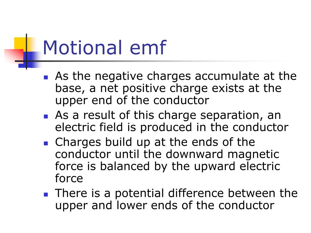 Motional emf