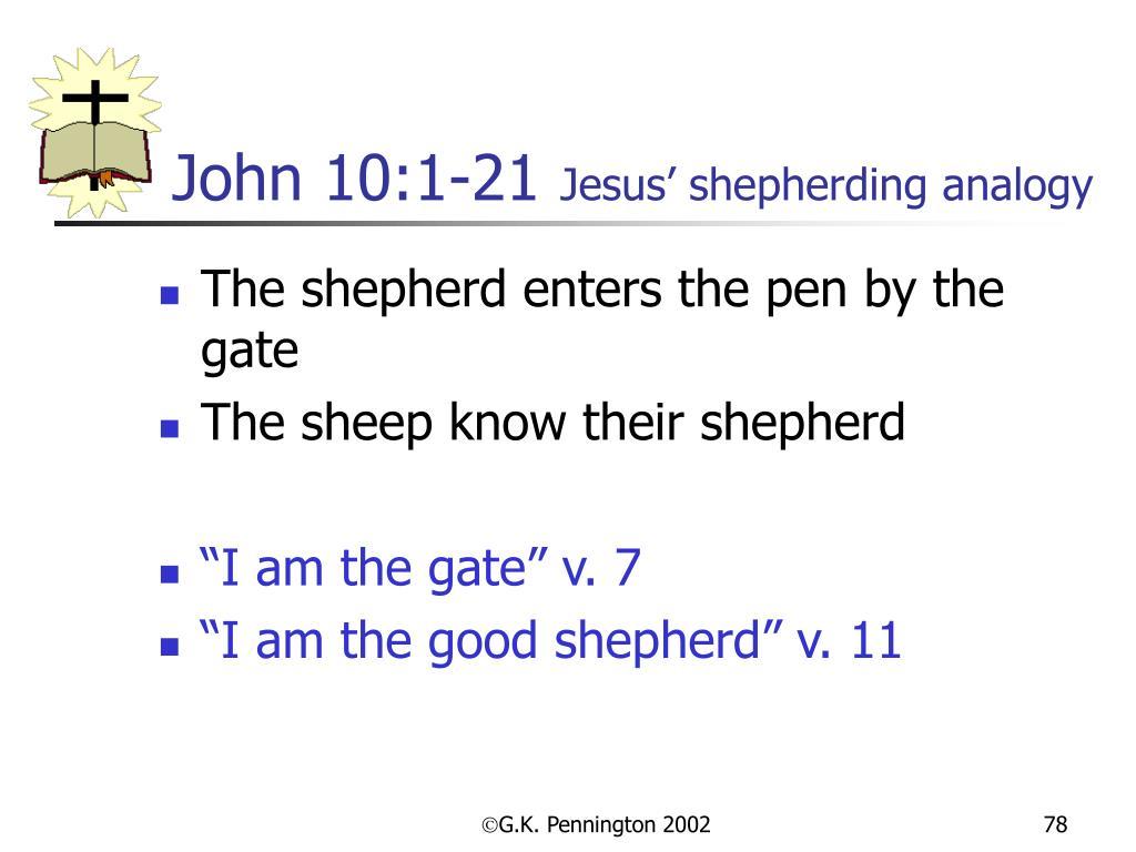 John 10:1-21