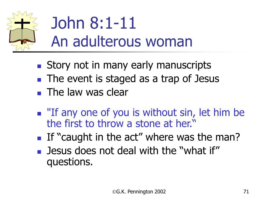 John 8:1-11