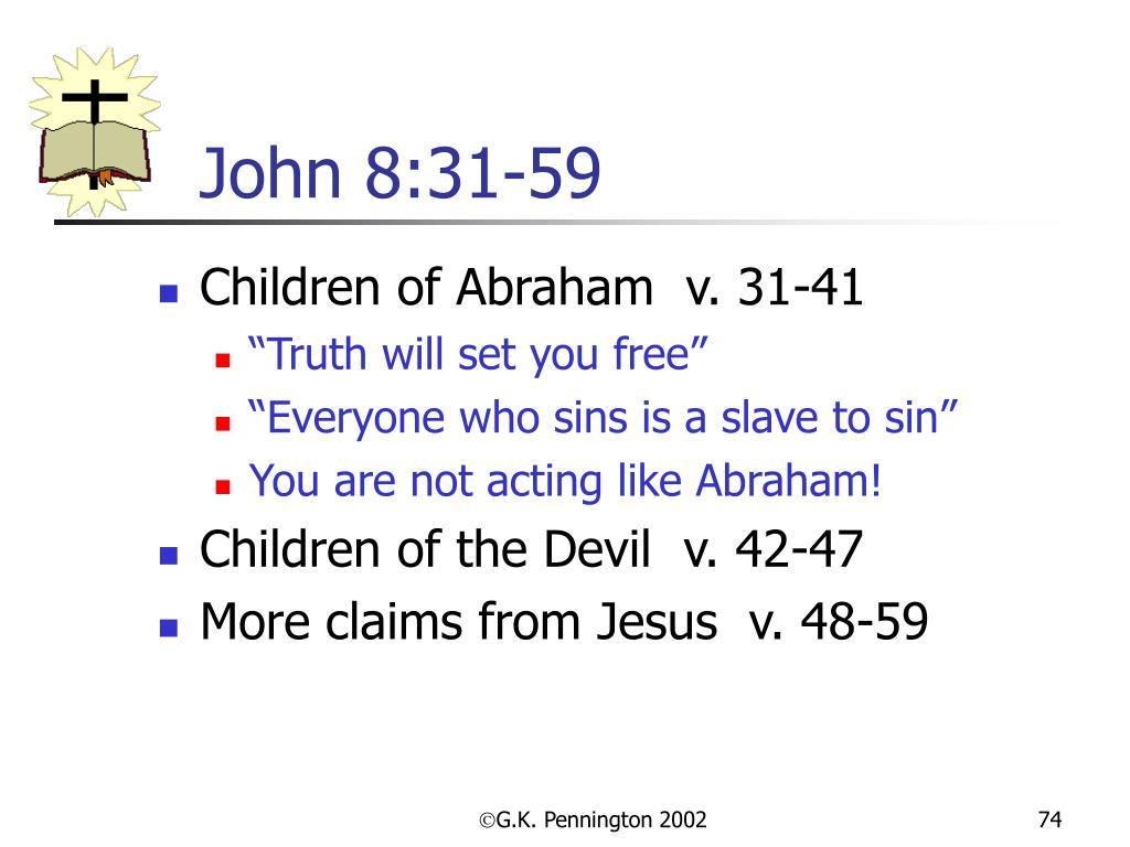 John 8:31-59