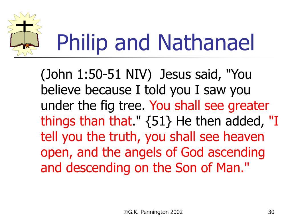 Philip and Nathanael