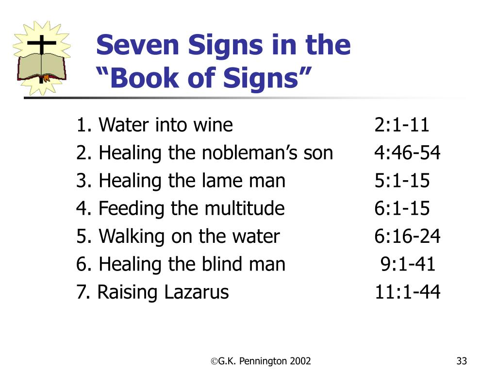 Seven Signs in the