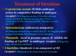 treatment of hirsutism
